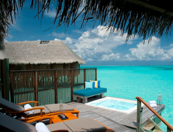 Hilton Conrad in Maldives