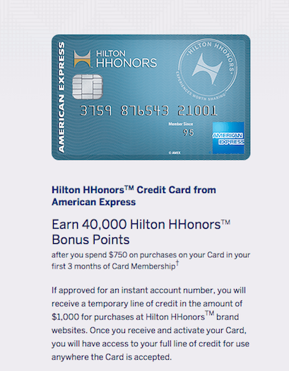 American Express Hilton HHonors Rewards Credit Card Review