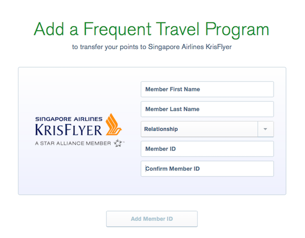 Transfer Ultimate Rewards points to travel partners