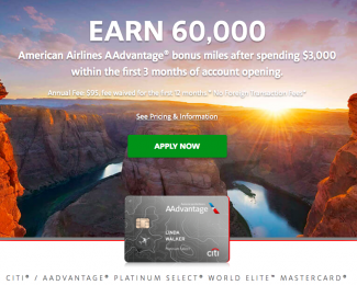 Citi-AAdvantage-Platinum-Select-World-Elite-MasterCard-Marketing