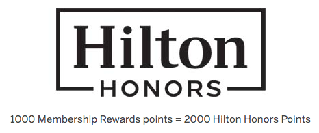 American Express Membership Rewards to Hilton Honors