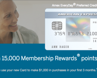 The Amex EveryDay® Preferred Credit Card from American Express Signup Offer