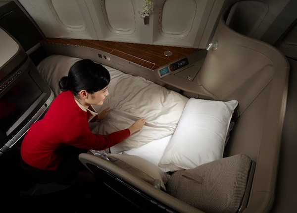 Cathay Pacific First Class Redemptions are increasing