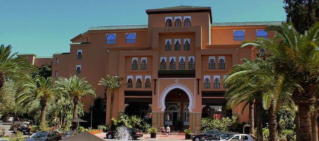 Front of Sofitel Hotel Morocco