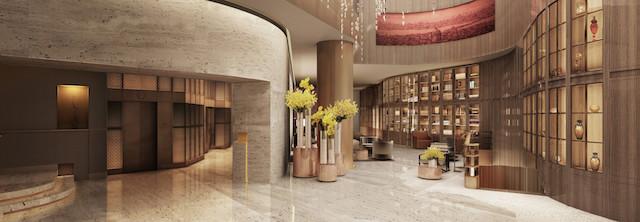 St Regis Lobby Istanbul