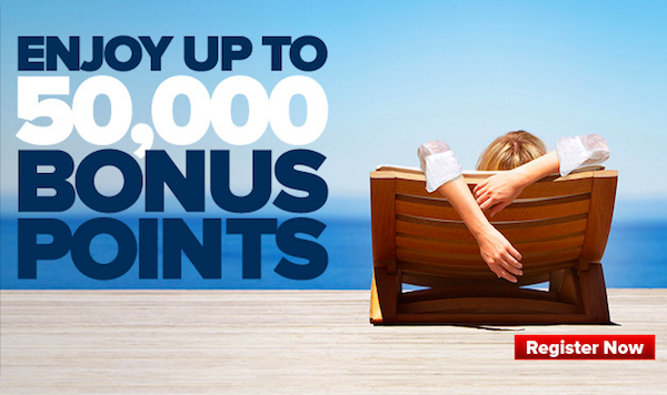 Club Carlson 50000 Points Promo