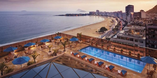 JW Marriott Rio Overlooking Beach
