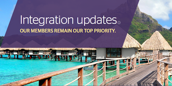 Starwood updates loyalty members on SPG plans