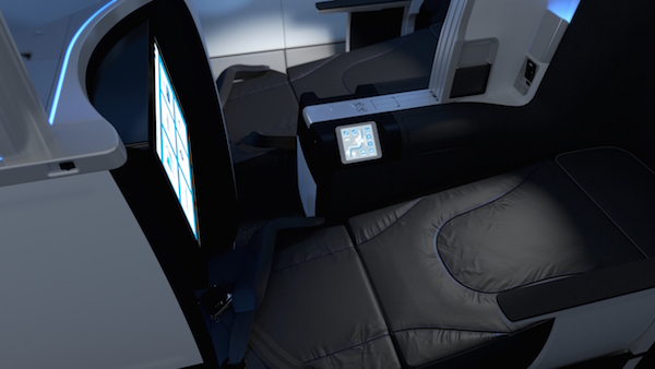 Mint lie-flat seats
