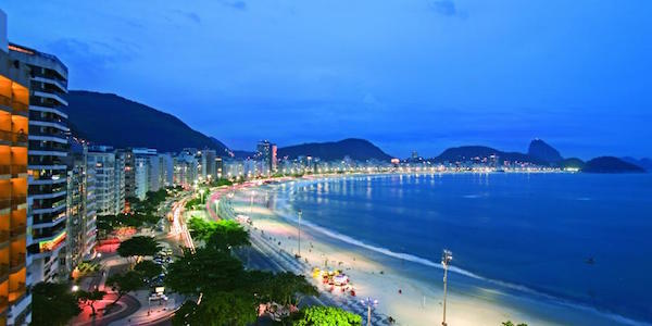 Sofitel Rio de Janeiro Copacabana Overlooking Beach