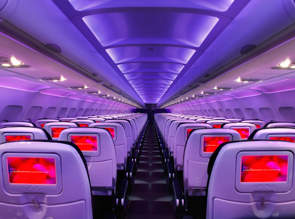 Virgin America Interior