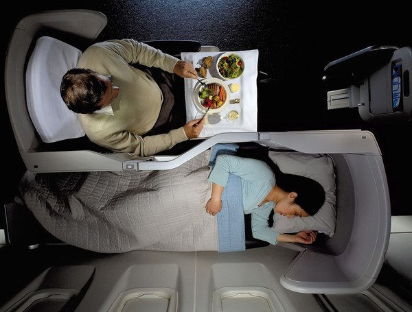 British Airways Club World Business Class