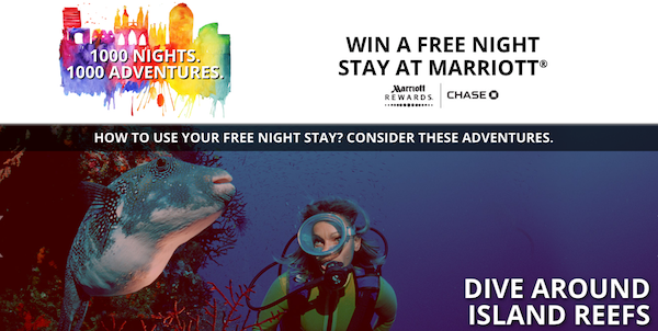 Marriott 1000 Nights Of Summer Promotion