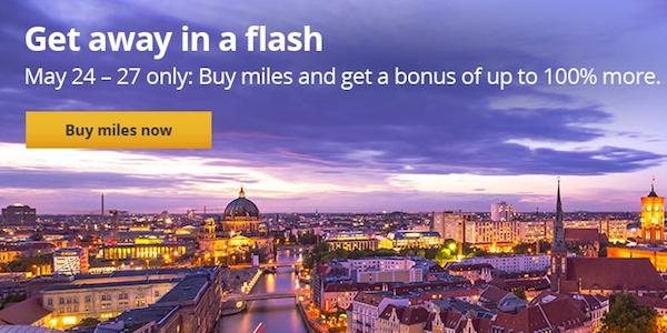 United MileagePlus Bonus Miles Sale