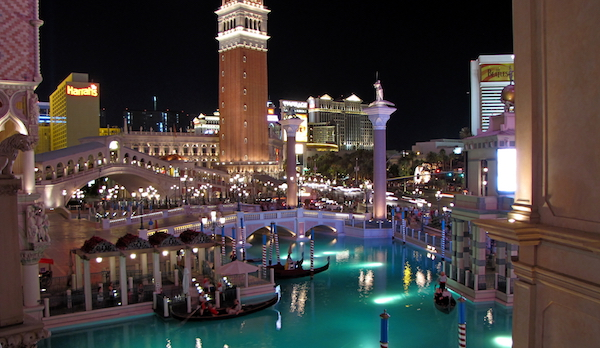 You could redeem 60,000 points for a night at The Venetian in Las Vegas