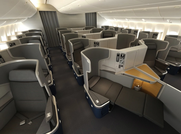 Business Class on American Airlines 777-300