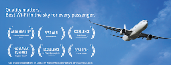 ViaSat Are An Award Winning Internet Provider