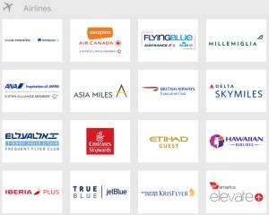 American Express Membership Rewards Airline Travel Partners