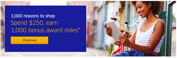 Earn 1000 Bonus United Miles
