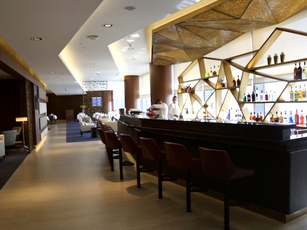 Etihad's new First Class Lounge and Spa in Abu Dhabi