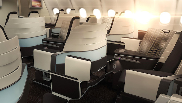 Hawaiian Airlines new first class cabin scheduled to enter operation in 2016