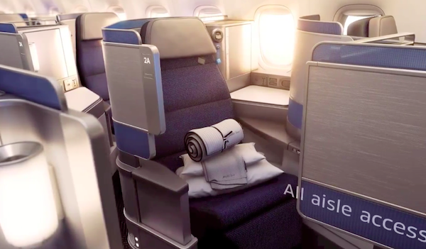 The new United Polaris Business Class will replace United Global First from December 2016