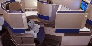 United Polaris Business Class Seat