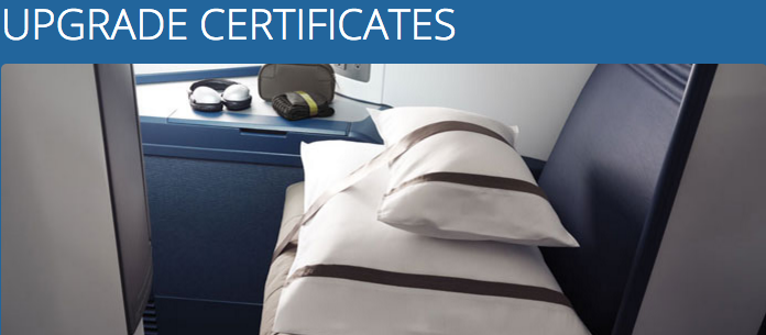 Global Upgrade Certificates are part of the Delta Choice Benefits program for Diamond Medallion members