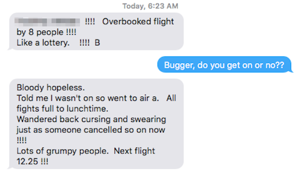 It is important when your flight is overbooked to know your rights.