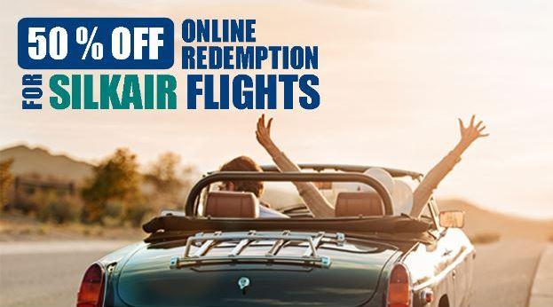 SilkAir 50% Off Promotion
