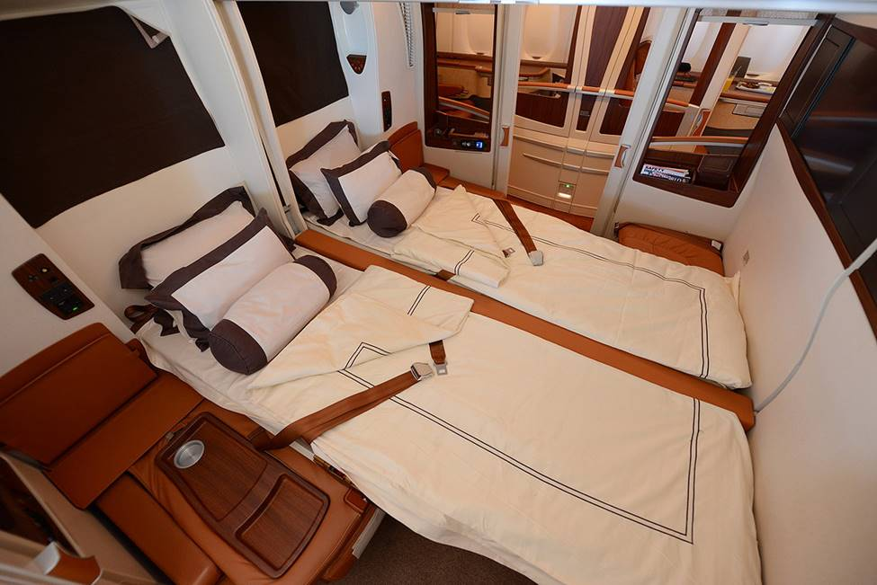 a380 Singapore Suites