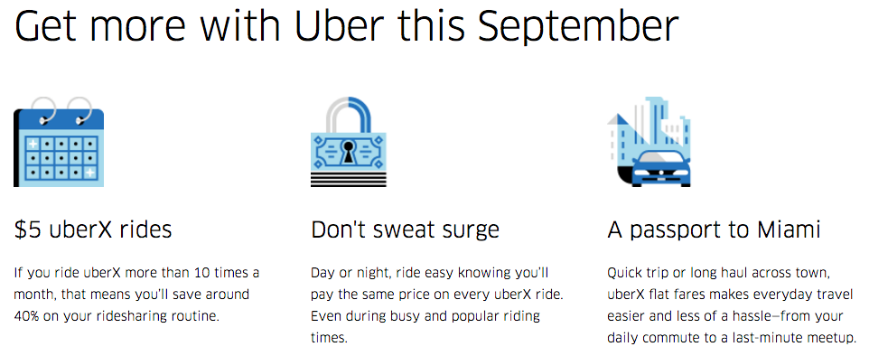 Get more with Uber this September