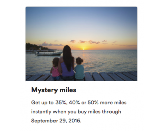 Alaska Airlines Mileage Plan - Mystery miles - featured image