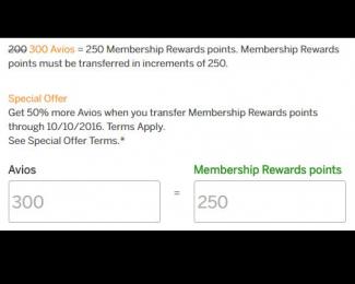 Amex to BA Transfer Bonus August 2016