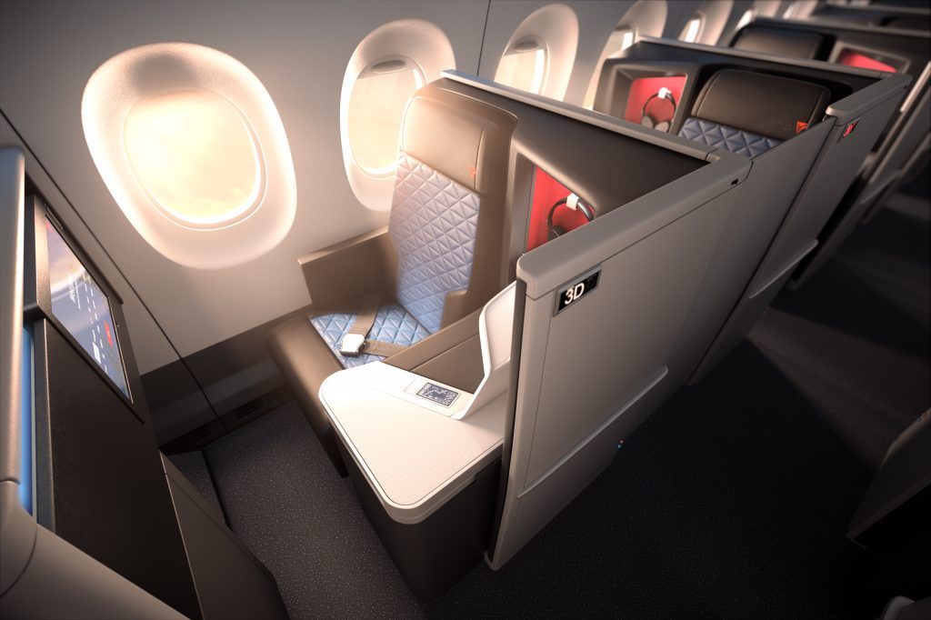 Delta One Business Suite A350 Window