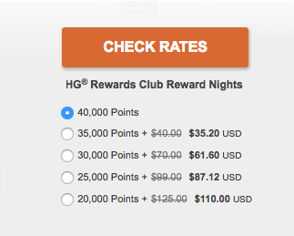 IHG Rewards 12 Percent Discount Points + Cash
