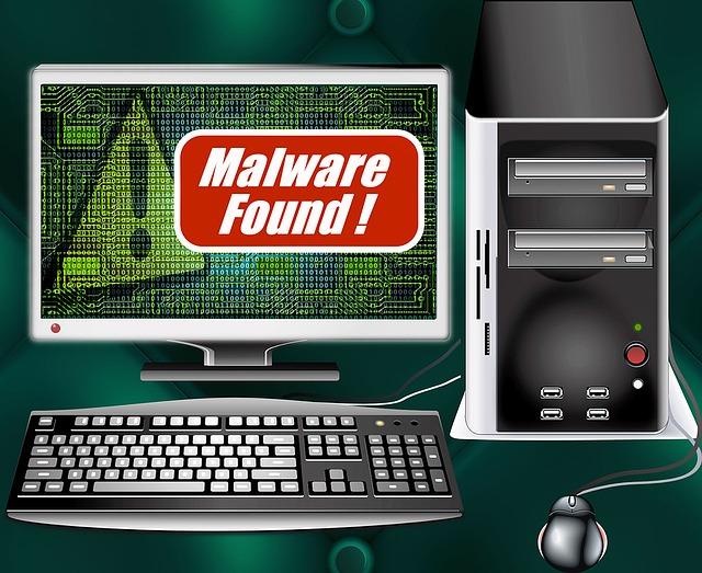 Malware Computer Image