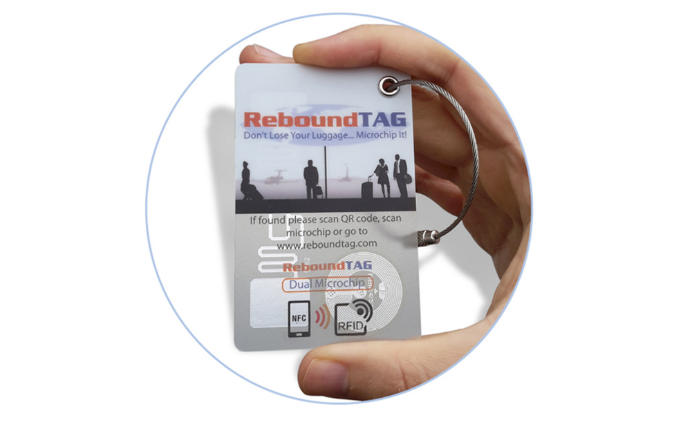 ReboundTAG Luggage Tracking Tags