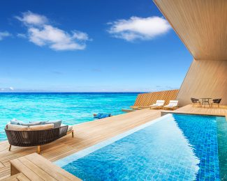 St. Regis Maldives Overwater Villa with Pool - Deck
