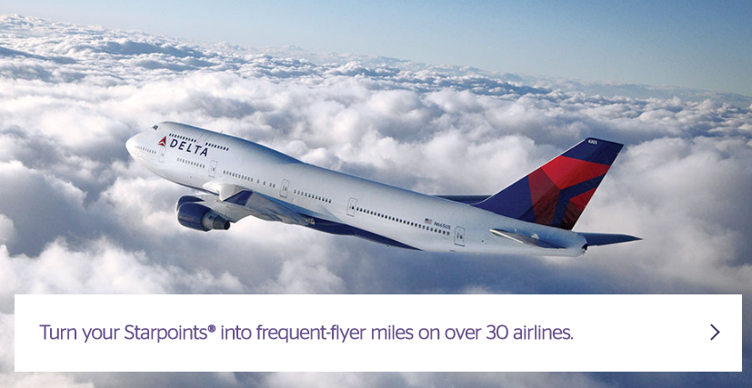 Starwood Preferred Guest Transfer Partners