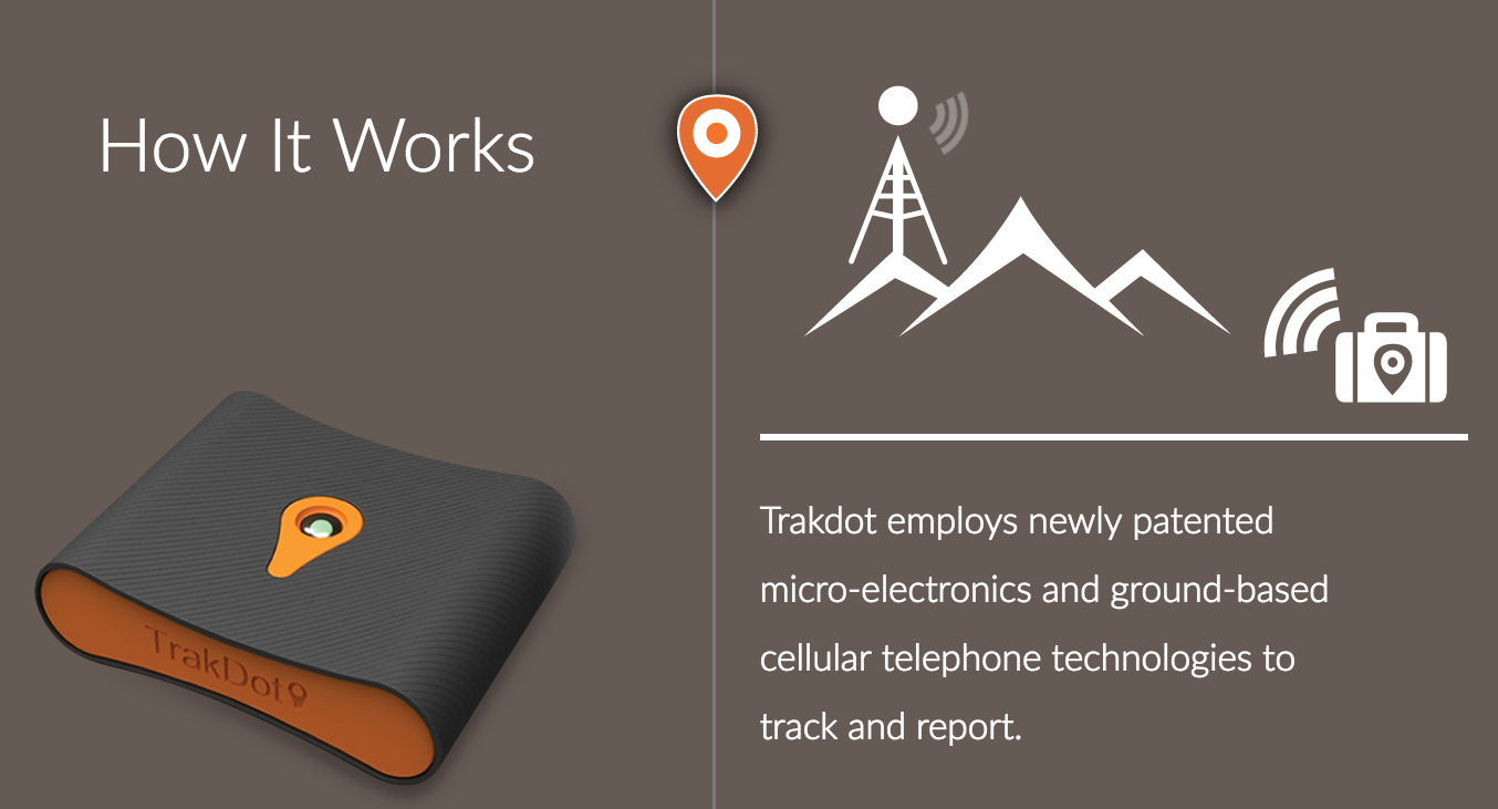 Trakdot Luggage Tracking