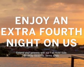 Amex Travel 4th Night Free