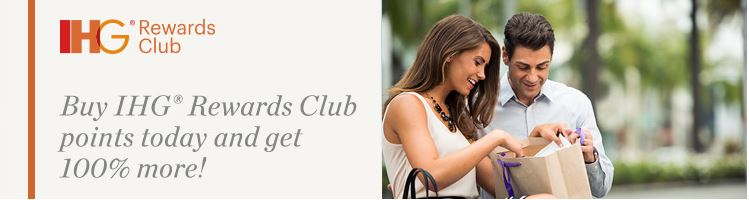 IHG Points Purchase Promotion