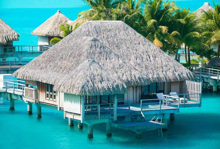 The St. Regis Bora Bora Resort Premium Over Water Villa