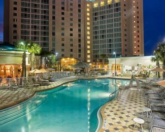 The Crowne Plaza Orlando