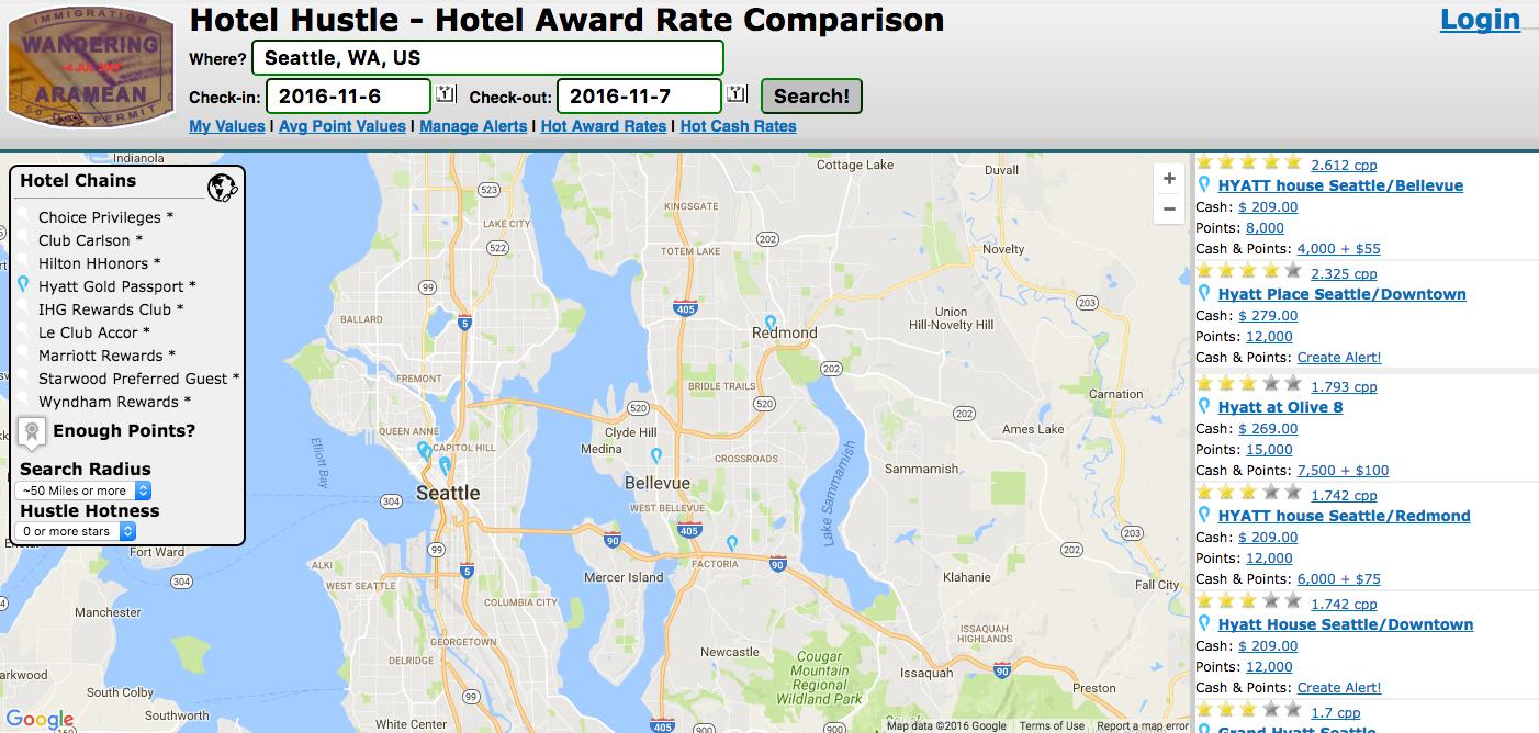 Hotel Hustle Hotel Award Search