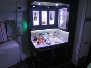 Korean Air A380 First Class Bar