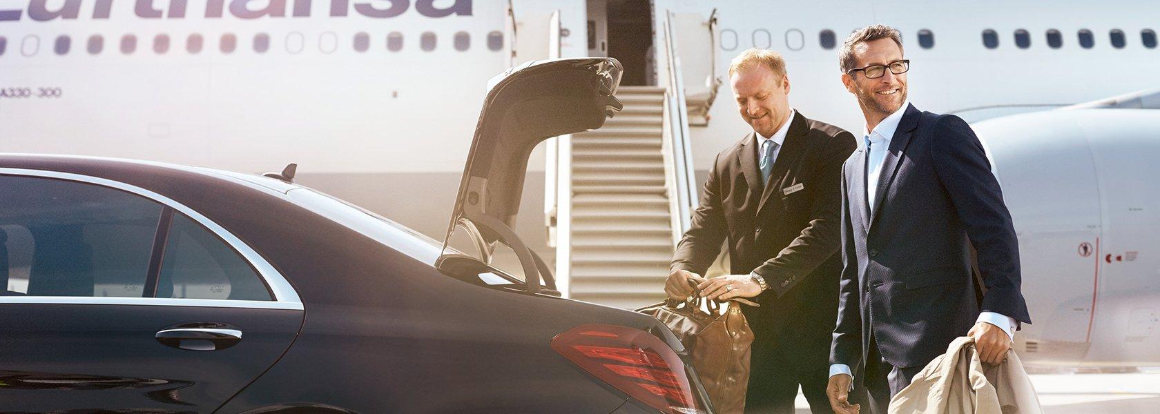 Lufthansa First Class Limousine Service