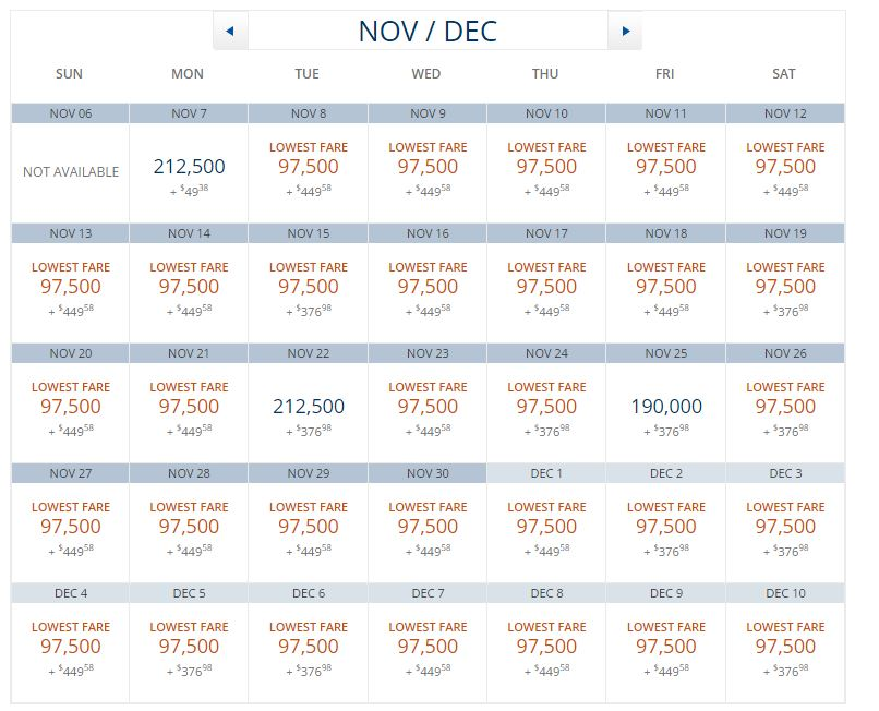 New Delta Business Class Award Rates to India