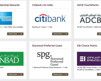 Etihad Guest Transfer Partners
